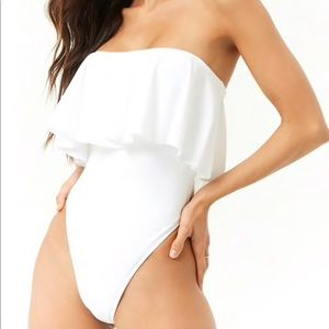 Flounce One Piece Swimsuit